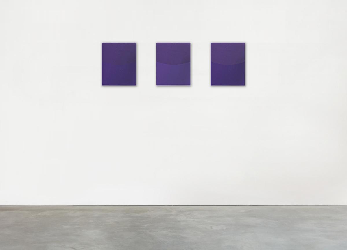 purple variations, 2018 oil on canvas, 35 X 29 cm