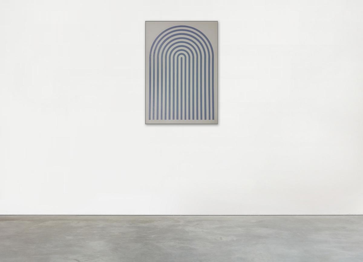 pala, 2017 wax crayon on paper, 103 X 72 cm