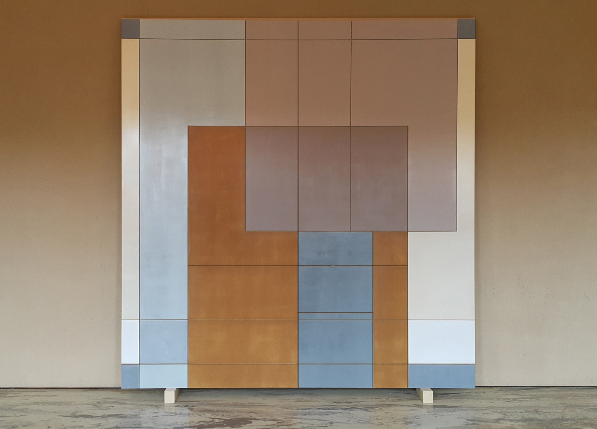 average 2018 media su mdf, 210 X 200 cm